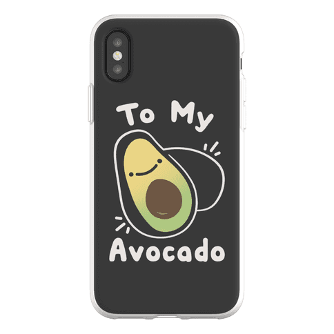 (You're The Toast) To My Avocado Phone Flexi-Case