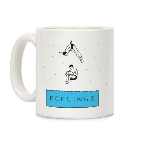 Diving Into Feelings Coffee Mug