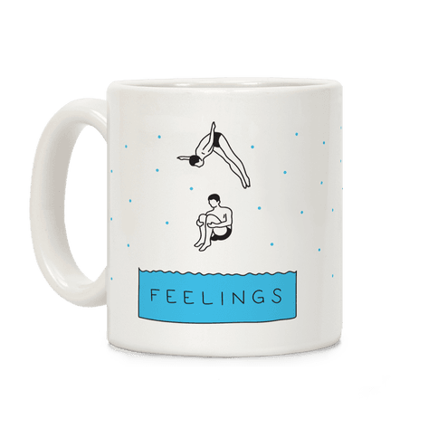 Diving Into Feelings Coffee Mug
