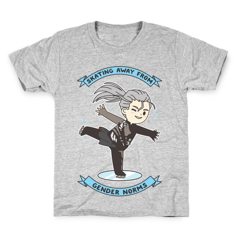 Skating Away From Gender Norms Kids T-Shirt