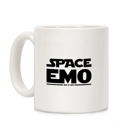 Space Emo Parody Coffee Mug