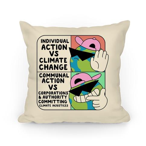 Cool Earth Meme Pillow
