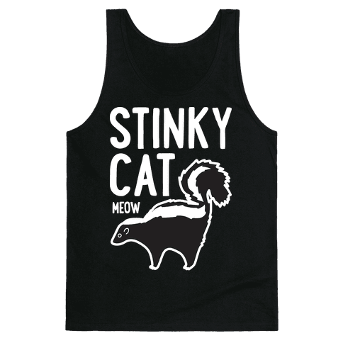 Stinky Cat Skunk Tank Top