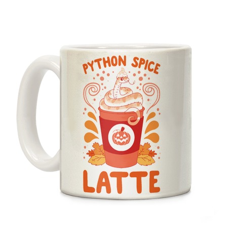 Python Spice Latte Coffee Mug