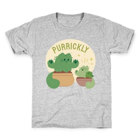 Purrickly! Kids T-Shirt