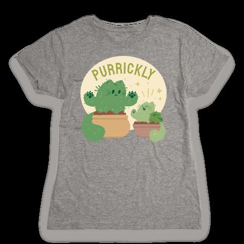 Purrickly! Womens T-Shirt