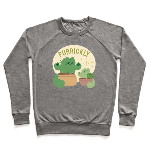 Purrickly! Pullover