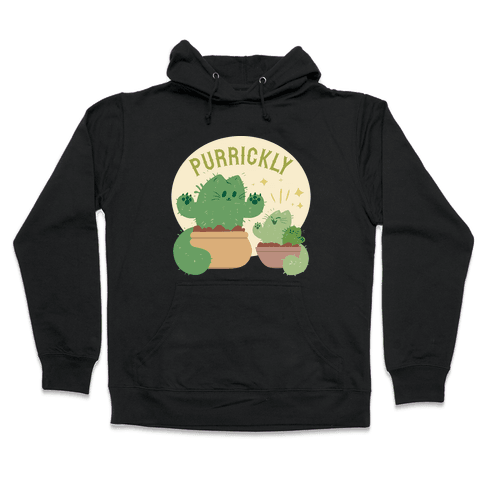 Purrickly! Hooded Sweatshirt