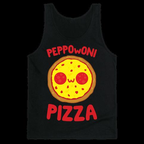 PeppOwOni Pizza Tank Top