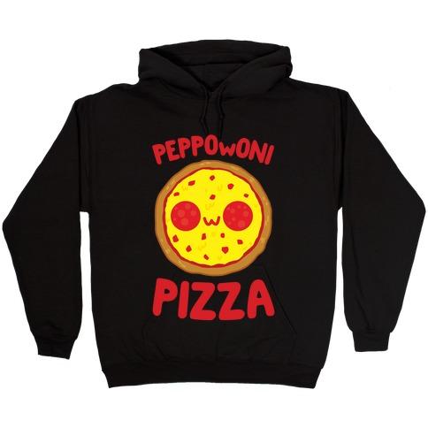PeppOwOni Pizza Hooded Sweatshirt