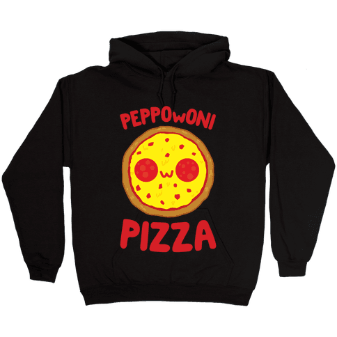 PeppOwOni Pizza Hooded Sweatshirt