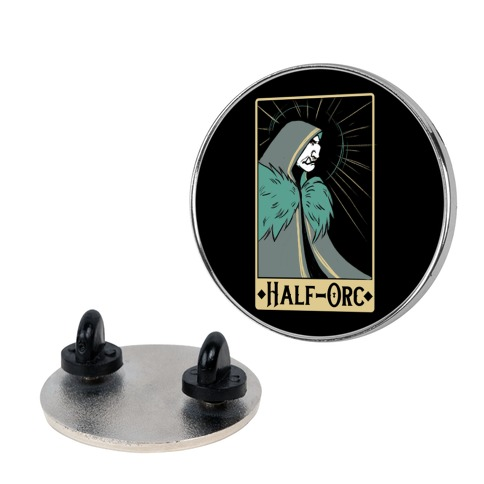 Half-Orc - Dungeons and Dragons Pin