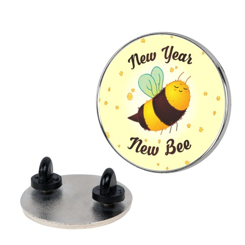 New Year New Bee Pin