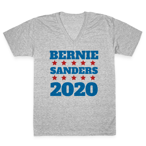 Bernie Sanders 2020 V-Neck Tee Shirt