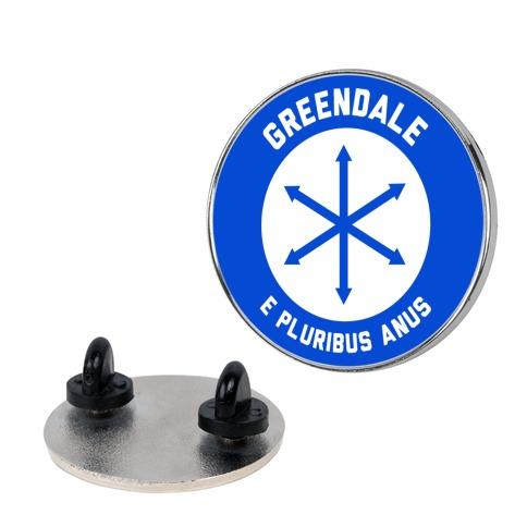 Greendale E Pluribus Anus Pin