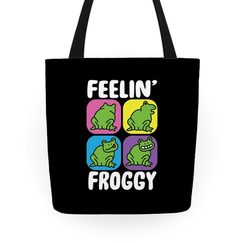Feelin' Froggy Tote