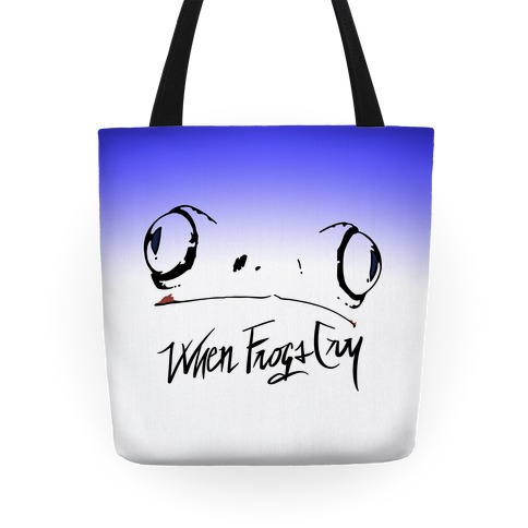 When Frogs Cry Tote