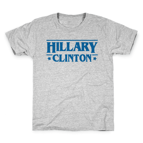 Hillary Clinton Things Parody Kids T-Shirt