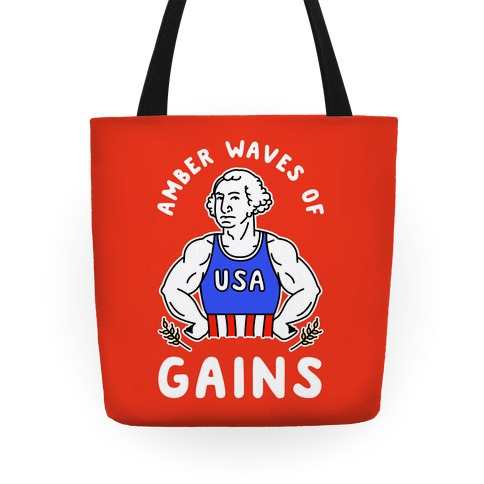 Amber Waves Of Gains Tote