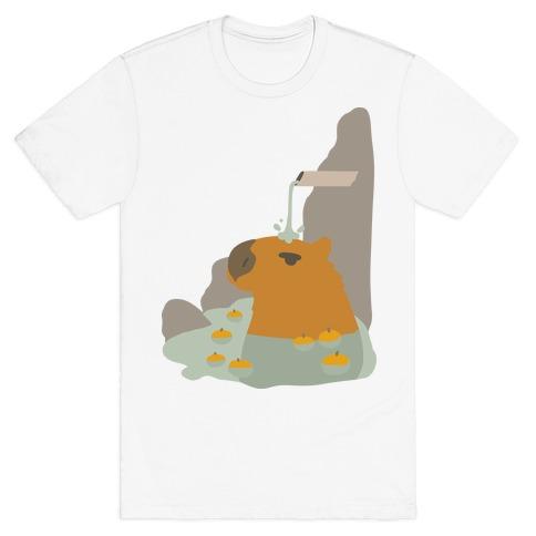 Capybara Hot Spring T-Shirt