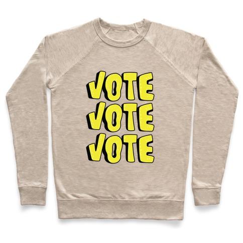 Vote Vote Vote! (Yellow) Pullover