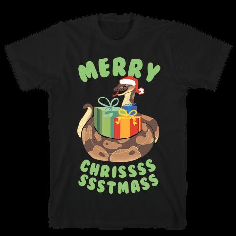 Merry Chrissssssstmass! Mens T-Shirt