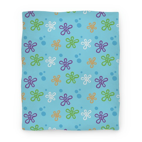 Dreamy Underwater Flower Sky Blanket
