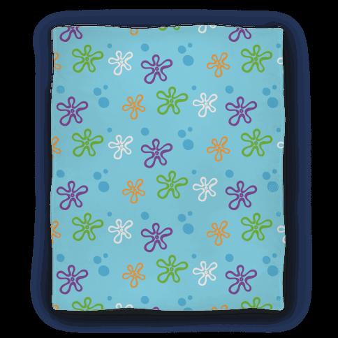 Dreamy Underwater Flower Sky Blanket