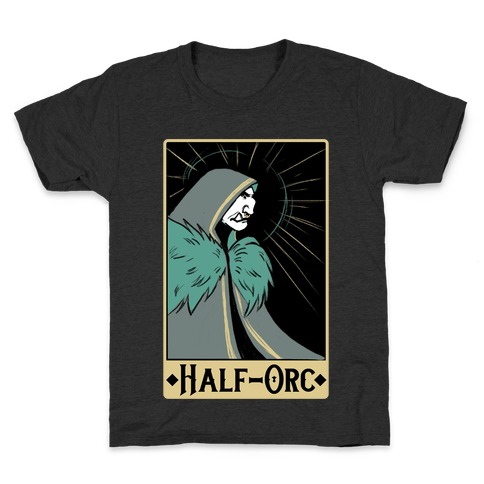 Half-Orc - Dungeons and Dragons Kids T-Shirt