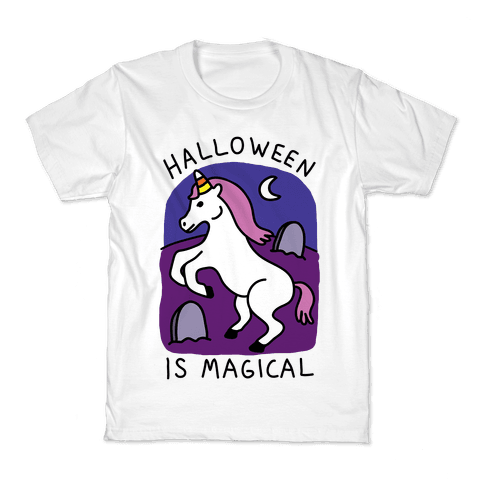 Halloween Is Magical Kids T-Shirt