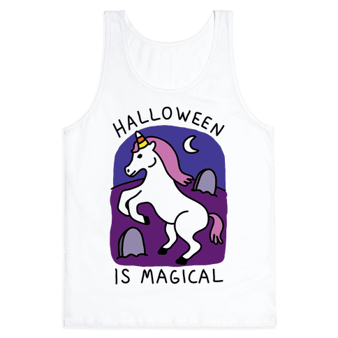Halloween Is Magical Tank Top