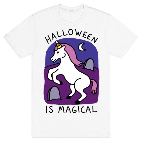 Halloween Is Magical Mens T-Shirt