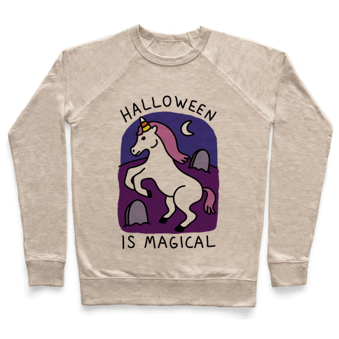 Halloween Is Magical Pullover