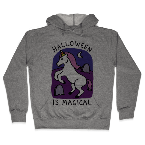 Halloween Is Magical Hooded Sweatshirt