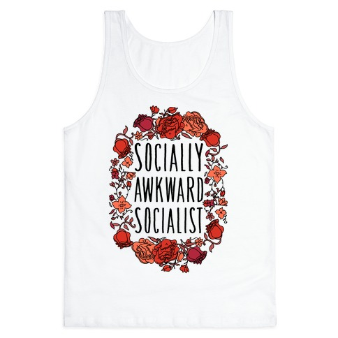 Socially Awkward Socialist Tank Top