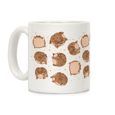 Desert Rain Frog Pattern Coffee Mug