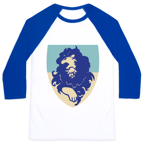 Blue Lion Crest - Fire Emblem Baseball Tee