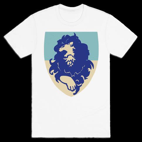 Blue Lion Crest - Fire Emblem Mens/Unisex T-Shirt