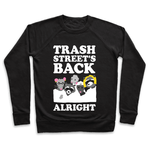 Trash Street's Back Alright Pullover