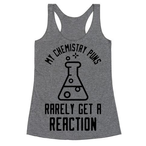 My Chemistry Puns Racerback Tank Top