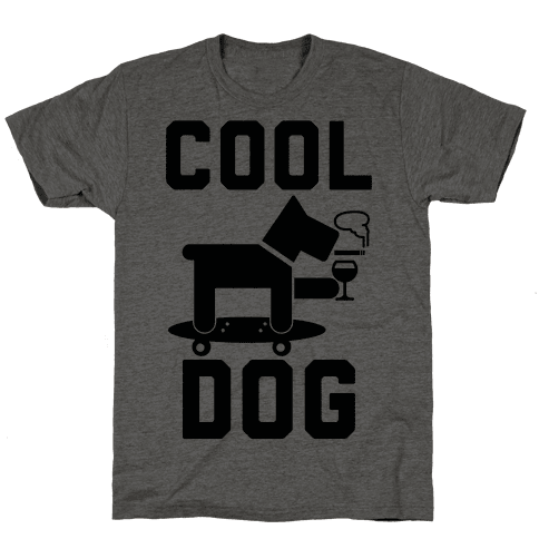 Cool Dog Mens T-Shirt