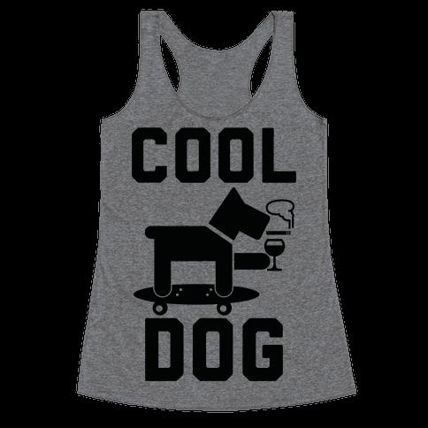 Cool Dog Racerback Tank Top