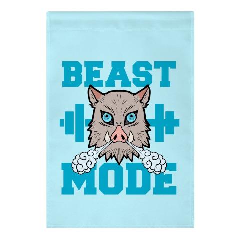 Beast Mode Inosuke Garden Flag