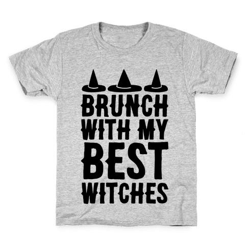 Brunch With My Best Witches  Kids T-Shirt