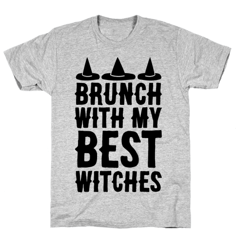 Brunch With My Best Witches  Mens T-Shirt