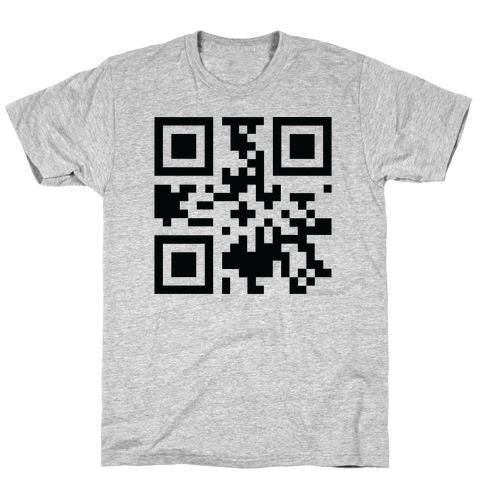 F*** Trump Secret QR Code T-Shirt