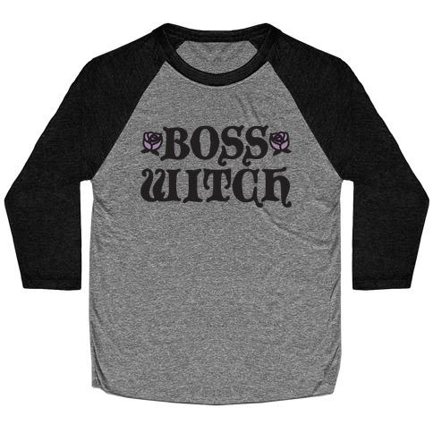 Boss Witch Baseball Tee
