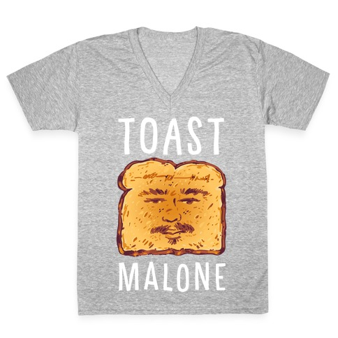 Toast Malone V-Neck Tee Shirt