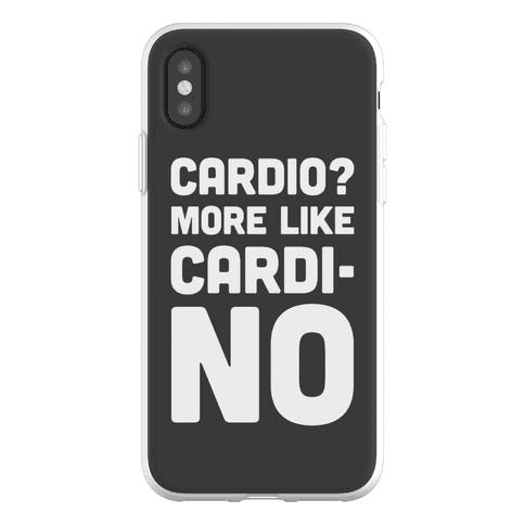 Cardio More Like Cardi-no Phone Flexi-Case