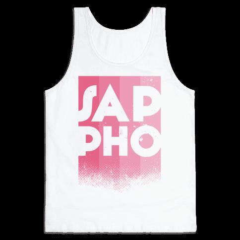 Vintage Sappho Pink Tank Top